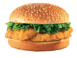 Burger clipart fish sandwich Fry They're Friday's: Geek Fast