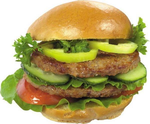 Hamburger clipart food item ItemsFast Food Art и fast