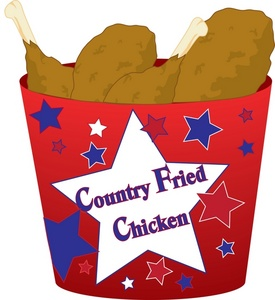 Burger clipart fried chicken Fried clipart a is of