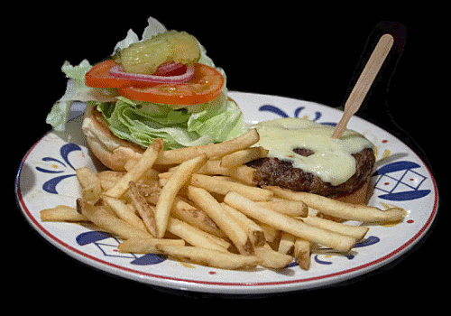 Burger clipart fried food Fast pages Free Food Art
