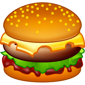 Burger clipart google On Play Android Burger Google