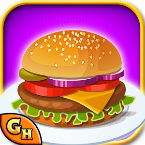 Burger clipart google Burger on Android Play Cooking