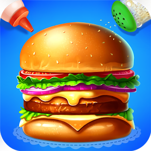 Burger clipart google Burger on Android Play Kids