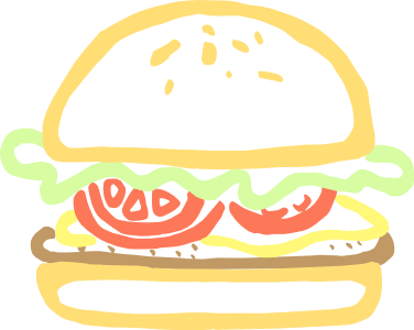 Food clipart abstract #1