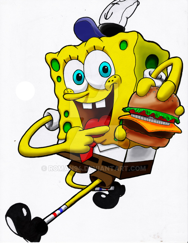 Hamburger clipart krabby patty Explore roman94 40 DeviantArt 12