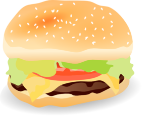 Hamburger clipart krabby patty Clip com Clip royalty