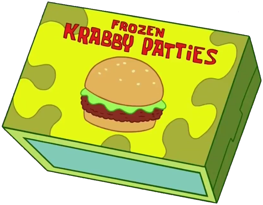 Hamburger clipart krabby patty Frozen by Krabby  (food)