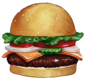 Hamburger clipart krabby patty KRABBY PATTY ThingLink