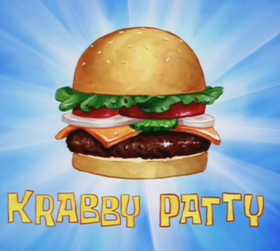 Burger clipart krabby patty Community Own TV TV Products