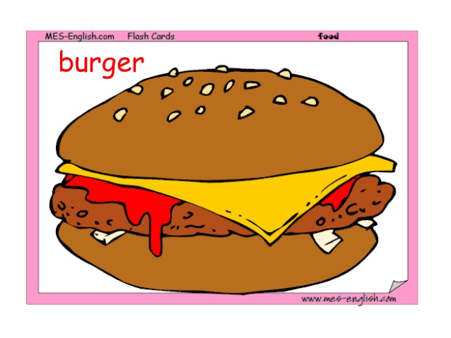 Burger clipart makanan  MSP2_Makanan burger 15