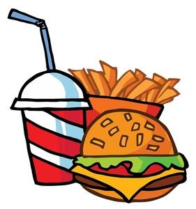 Burger clipart makanan Pictures Panda hamburger Clip Clipart