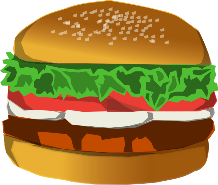 Hamburger clipart beef burger Clipart pages 3 Meat Domain