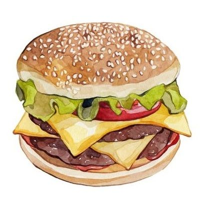 Burger clipart picnic food More on Pin 105 and
