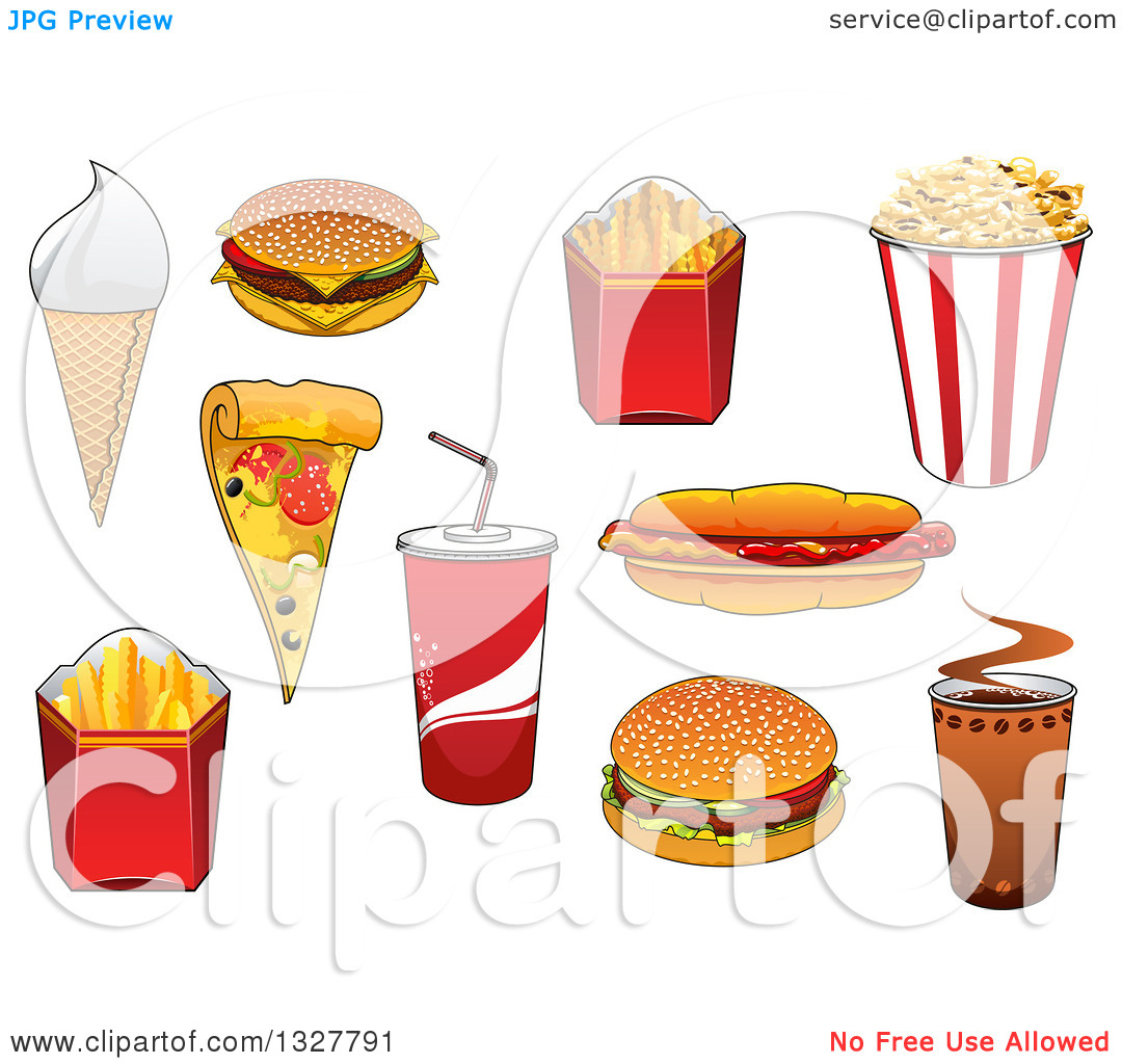Burger clipart pizza And burger and burger clipart