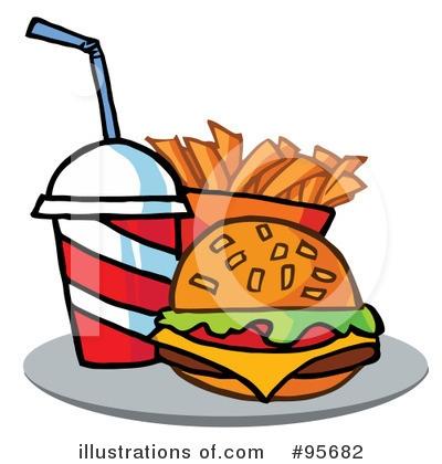 Burger clipart pizza Clipart Pizza (RF) Clipart Hamburger