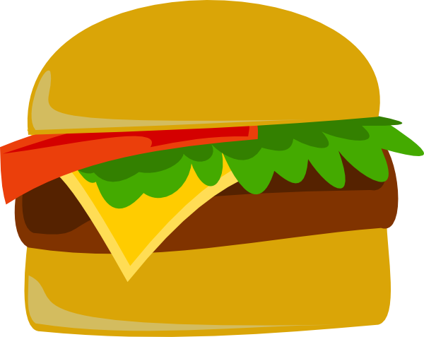 Burger clipart pop art Image art Download Burger this