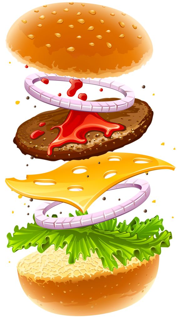 Burger clipart school food Art images on food clip