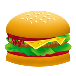 Burger clipart thin Zone Thin Clipart For And