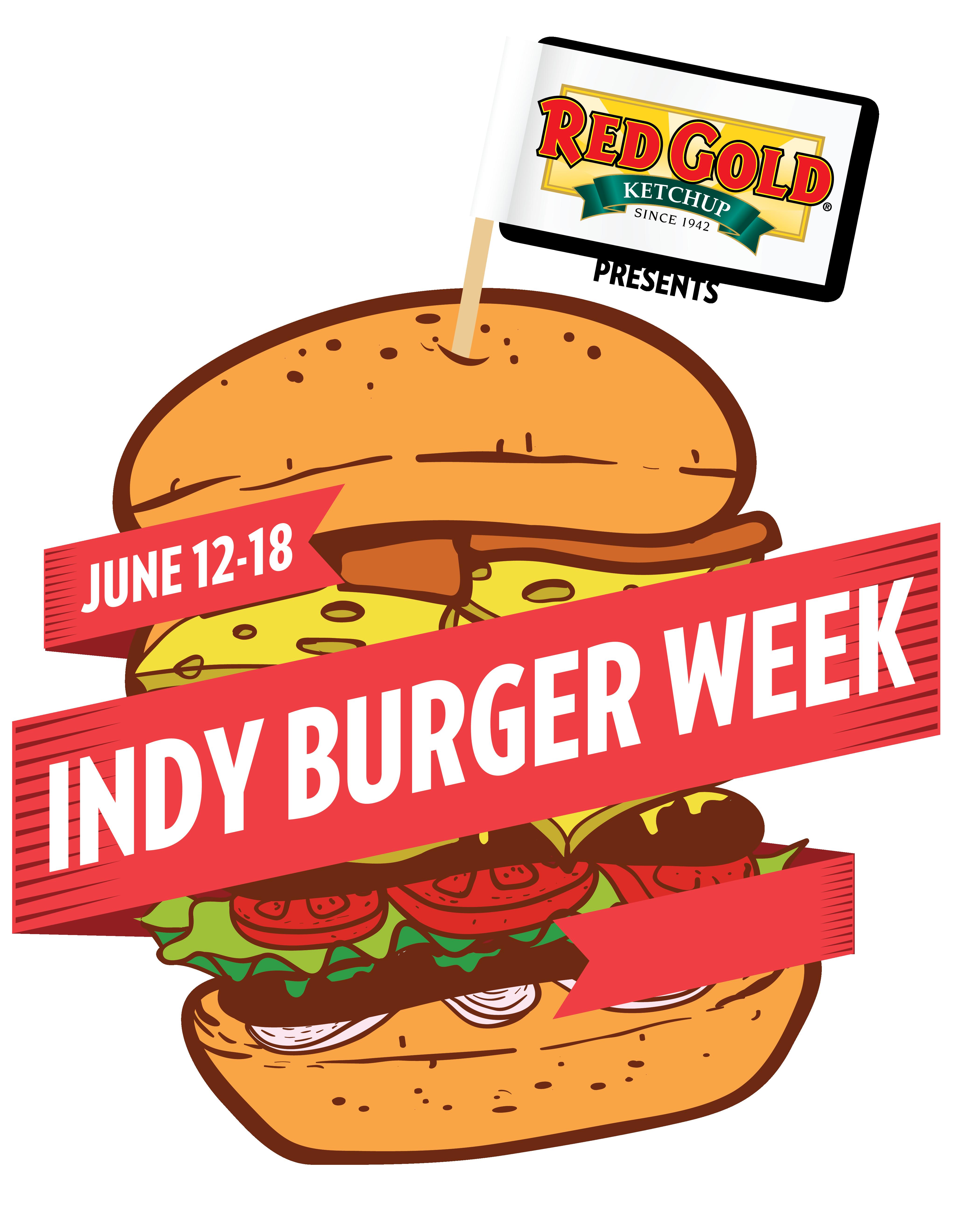 Veggie Burger clipart pickle slice Logo Burger indyburgerweek Week Logo