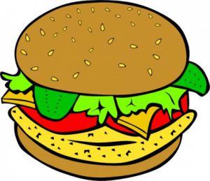 Burger clipart three Chicken Page Clip 4 Chicken