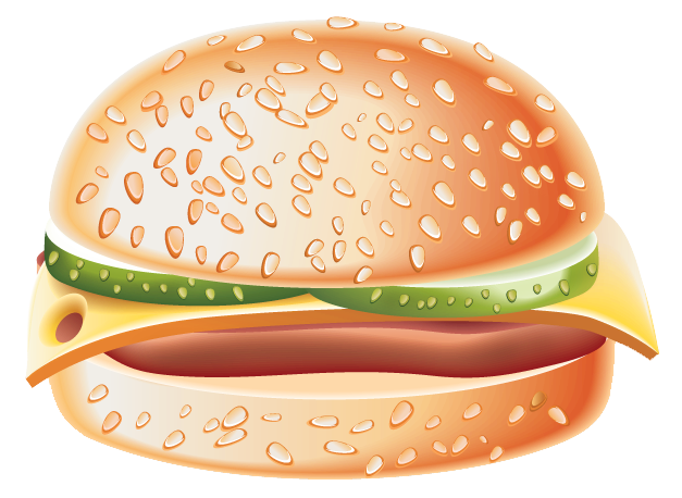 Hamburger clipart transparent background Full Quality ? Gallery View
