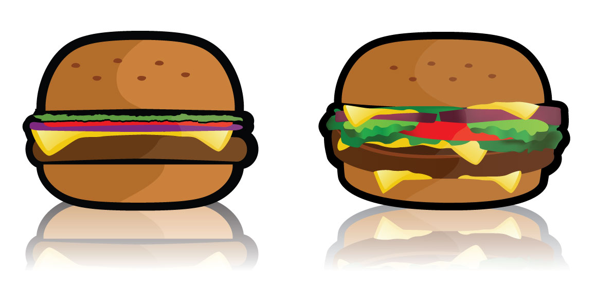Burger clipart vector Potential from and Free Restaurant