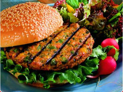 Veggie Burger clipart delicious food Heals Bun Powered The Alternative