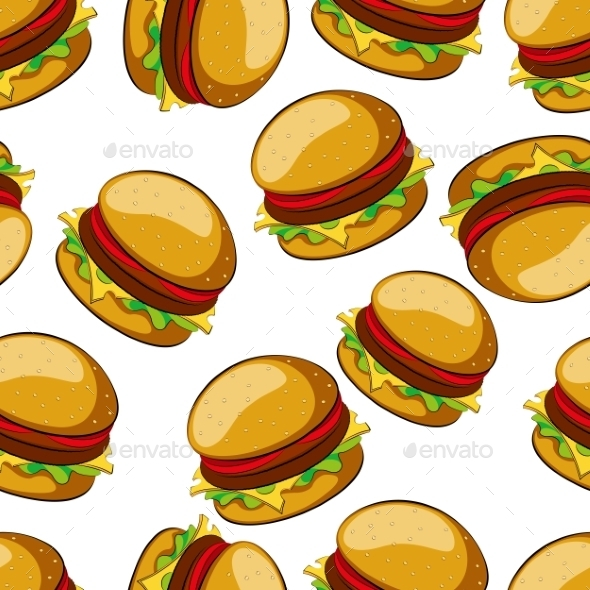 Burger clipart wallpaper Bread WallpaperSafari breakfast background cartoon