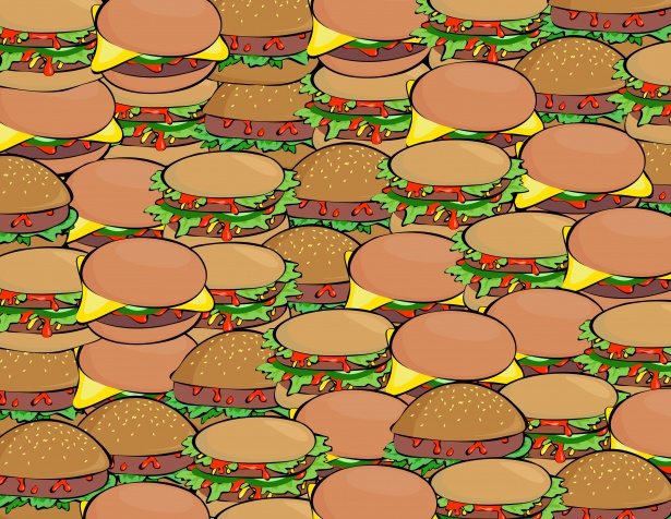 Burger clipart wallpaper Burger Wallpaper  Stock Pictures