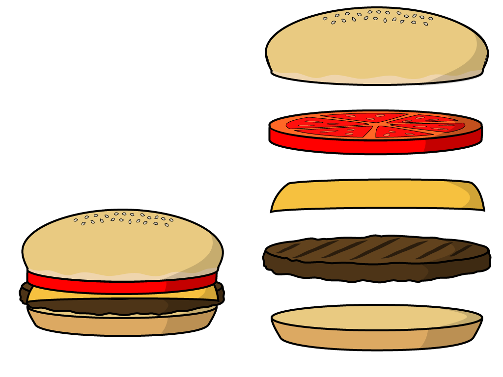 Burger clipart wallpaper Burger Cartoon Hamburger Pictures Cartoon
