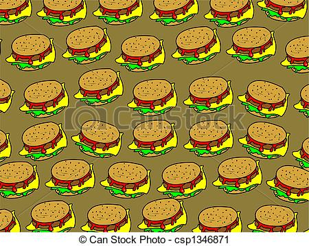 Burger clipart wallpaper Illustration cheeseburger snack burger Stock