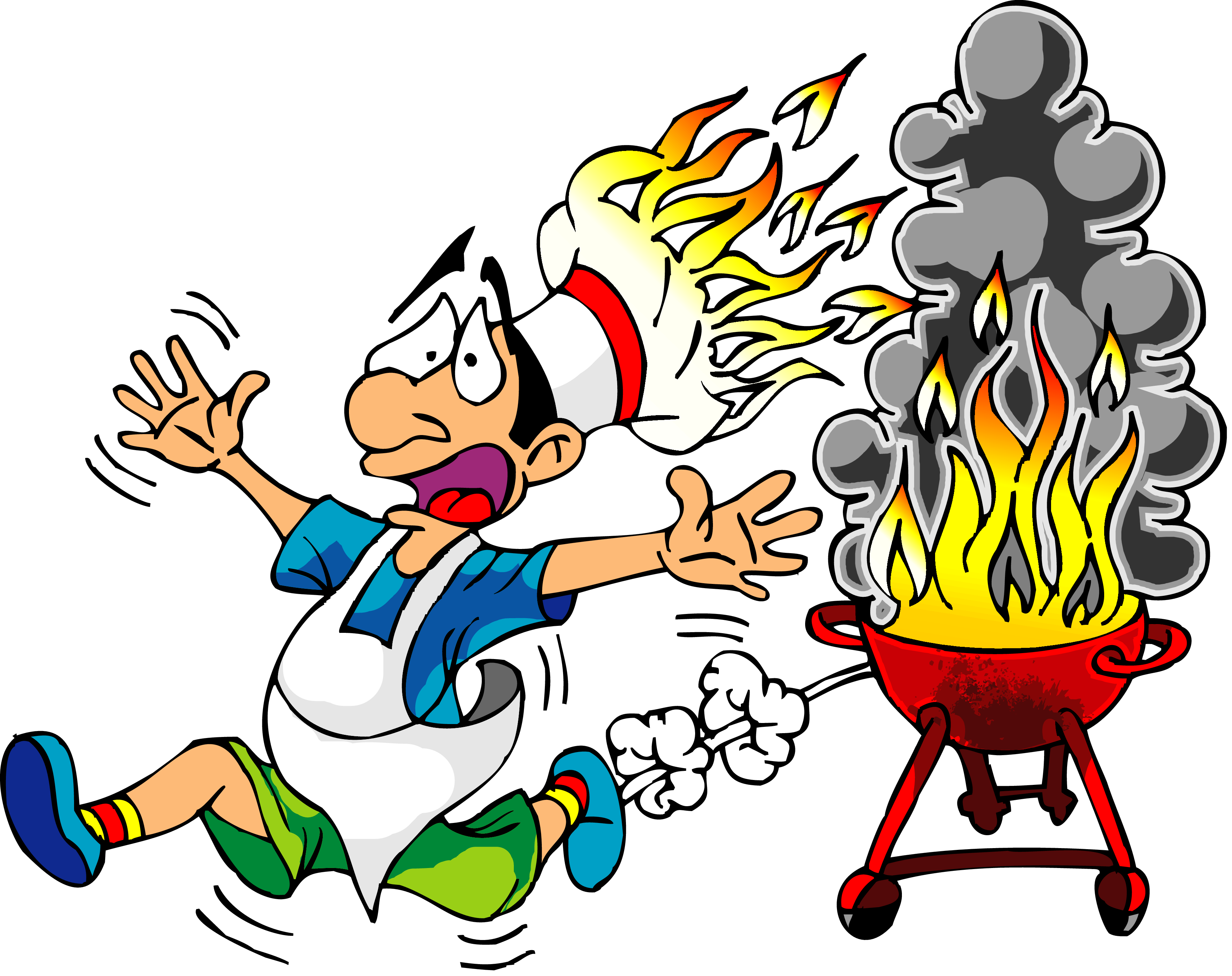 Kitchen clipart vector art Or Burn How Baby Clipart