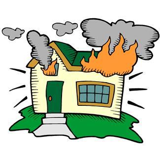Burn clipart Clipart Burning Building Download Burning