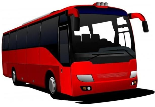 Bus clipart Vector buses clipart com clipart