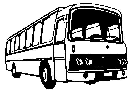 Bus clipart Bus work for com clipartix