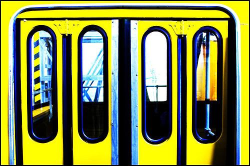 Open Door clipart bus Go of yellow yellow (the