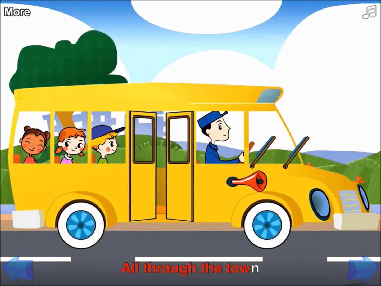 Open Door clipart bus YouTube The The Wheels Bus