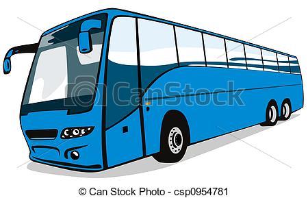 Blue Car clipart free transportation Csp0954781 Blue bus Blue on