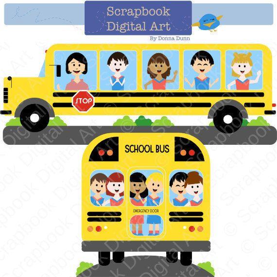 Bus clipart elementary school Colegio Education Clip clipart ideas