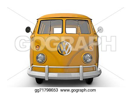 Bus clipart family van View orange product family old