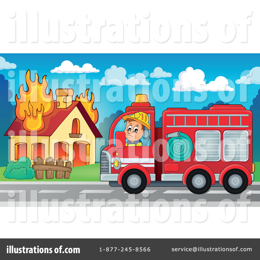 Bus clipart firefighter Royalty #1365926 Firefighter Clipart #1365926
