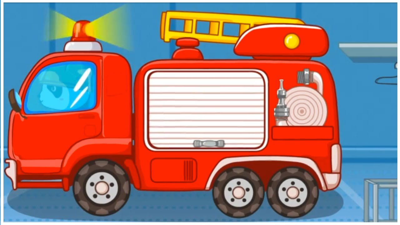 Bus clipart firefighter BEAR Little FIRE Demo Demo