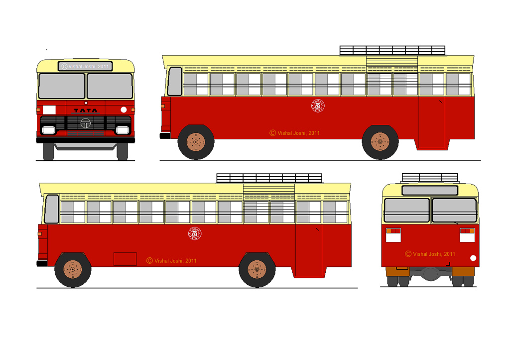 Bus clipart old bus Bus design by A OLD