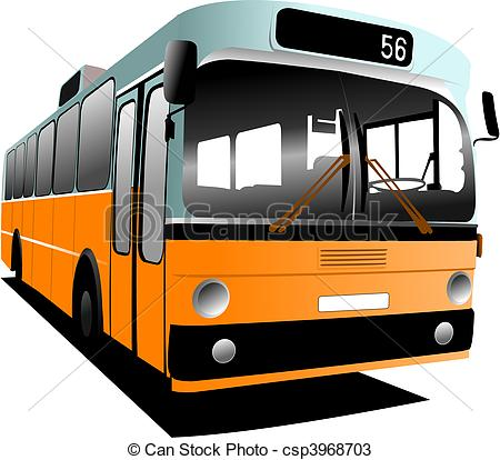 Bus clipart old bus Old co city fashioned fashioned