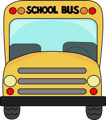 Apple clipart school bus Clip schoolbus) of a in