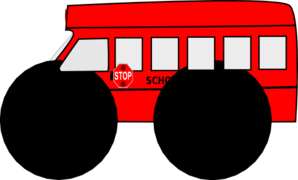 Bus clipart red bus Clip Bus School Clip com