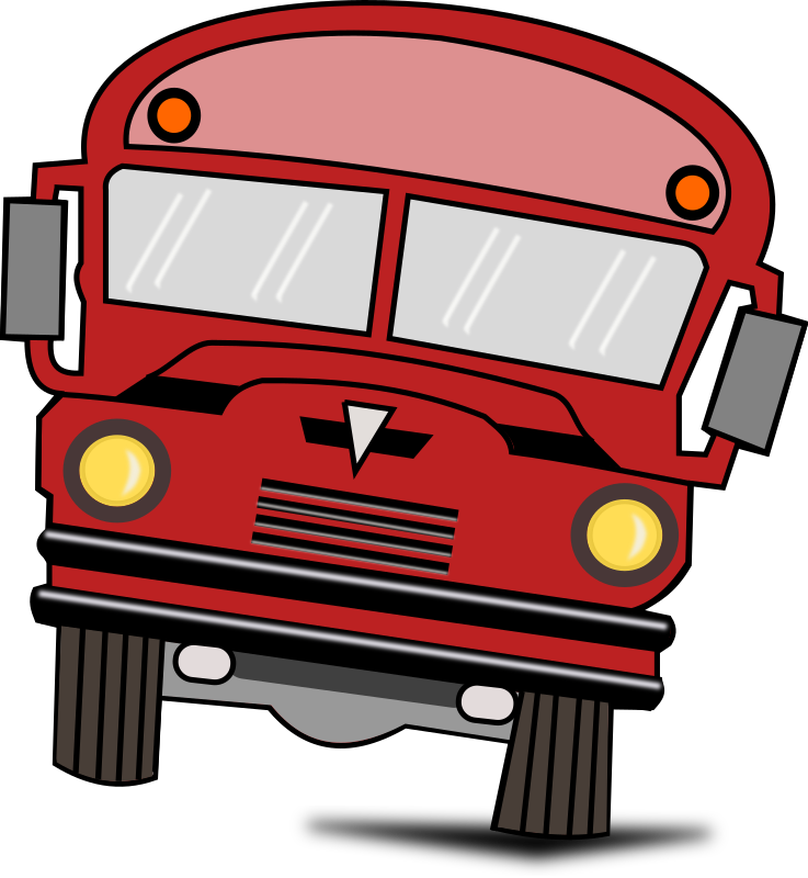 Bus clipart red bus Use Cartoon Red Bus Bus