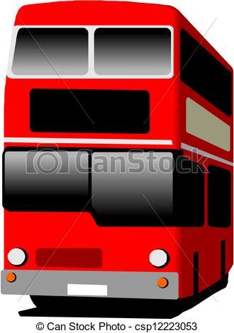 Bus clipart red bus Art Red Bus Clipart Red