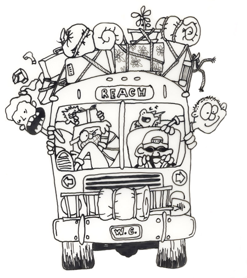 Bus clipart school camp Clipart Mission Camp Bus cliparts