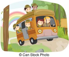 Bus clipart school camp Stickman Garden Camping of Bus